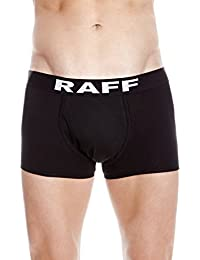 RAFF - Sport open boxer black/white. Pack 2 units