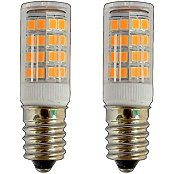 Pack de 2 x E14 Mini LED 3,5 W blanco cálido 20 SMD 330
