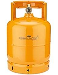 Bombola GLP/propano kg 3con asa y grifo–eurocamping naranja