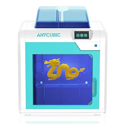 ANYCUBIC - Impresora 3D ANYCUBIC 4Max Pro Tamaño de impresión 270 x 205 x 205 mm con Bandeja calefactora UltraBase, Totalmente montada, 1 Bobina de filamento de 1 kg incluida, Funciona con PLA/ABS