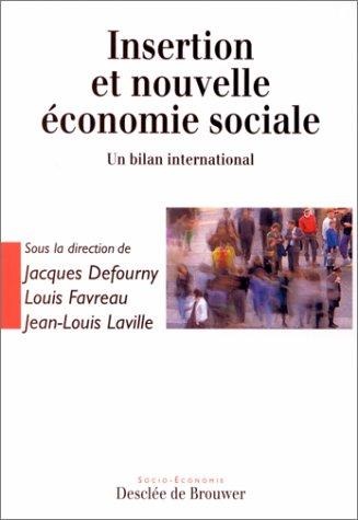 Insertion et nouvelle économie sociale