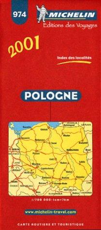 Carte routière : Pologne, 974, 1/700000