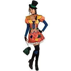 Rubies Costume Carnevale Pagliaccio Hobo del circo, sexy donna