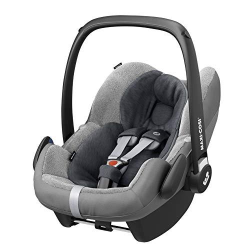 Maxi-Cosi kuschelig weicher 2-in-1 Fu/ßsack geeignet f/ür alle Maxi-Cosi Kinderwagen nomad black auch als Sitzpolster verwendbar