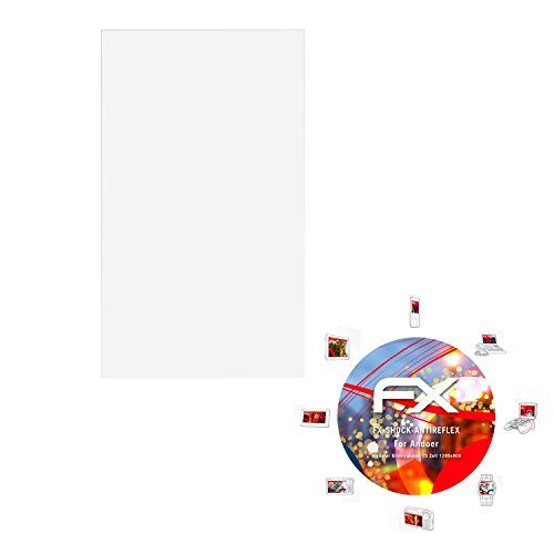 atFolix Panzerschutzfolie für Andoer Digitaler Bilderrahmen 15 Zoll (1280x800) Panzerfolie - FX-Shock-Antireflex blendfreie stoßabsorbierende Displayschutzfolie