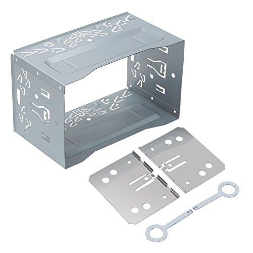 ghb-marco-para-auto-radio-de-coche-universal-2-din-metal