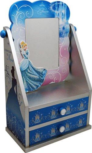 ey Cinderella Kommode aus Holz mit Spiegel, Geschenkpackung, 19.5 x 11 x 30 cm ()