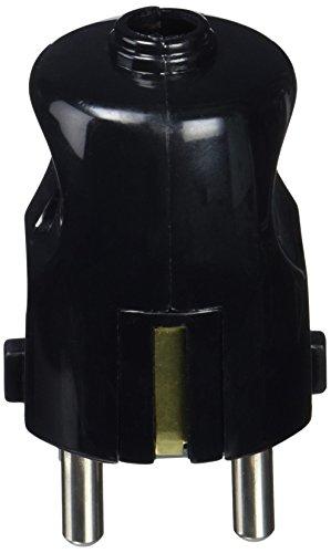 VIMAR Stecker 16A Schuko schwarz -