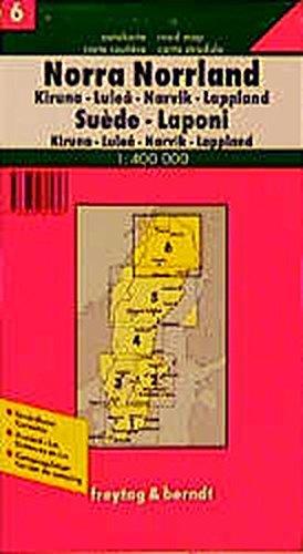 Freytag Berndt Autokarten, Schweden, Lappland (freytag & berndt Auto + Freizeitkarten): Alle Infos bei Amazon
