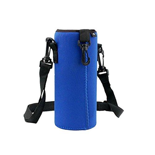 Forfar 1 Stück 1000ml Wasserflaschenträger isolierte Abdeckungs Tasche Halter Beutel Beutel Flaschen Tasche Camping Outdoor Sport