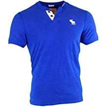 Abercrombie & Fitch - Camiseta de manga larga - Camiseta - Básico - Manga corta - para hombre