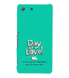 EPICCASE day of love Mobile Back Case Cover For Sony Xperia M5 (Designer Case)