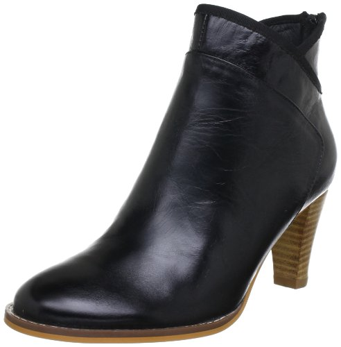 Sofie Schnoor HORSE OIL LEATHER ANKEL T102C Damen Stiefel Schwarz (Black)