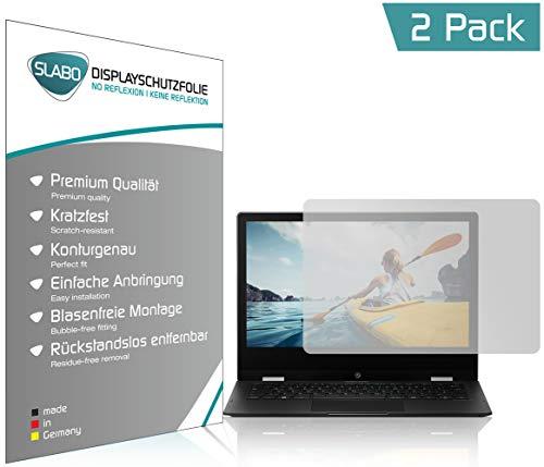 Slabo 2 x Bildschirmschutzfolie für Medion Akoya E3222 (MD 63150) Bildschirmschutz Schutzfolie Folie No Reflexion | Keine Reflektion MATT