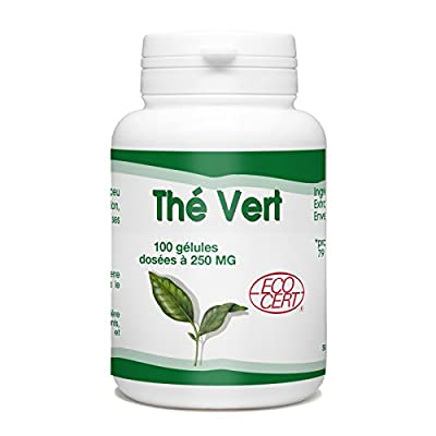 Thé Vert Bio - 250 mg - 100 gélules