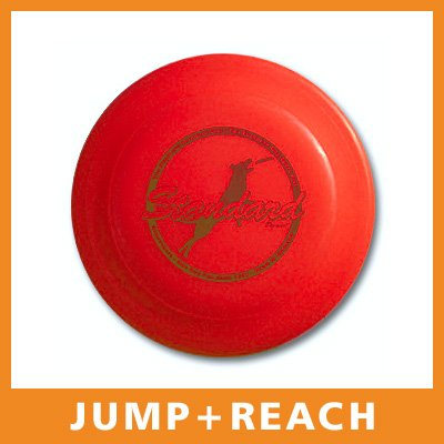 """DogStar Hunde-Frisbee """"Standard"""" 100g/24cm - rot"""