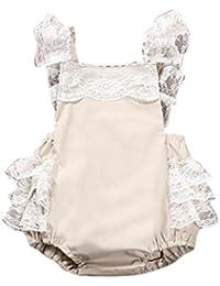 Vestidos Bebé,Switchali Recién nacido Infantil Bebé Niños Chicas Ropa encaje mono Romper Trajes jumpsuit Cake Niña linda vestir 0~24 meses