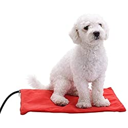 Berocia coussin chauffantchien chien chat animaux imperméable indestructible electrique couverture chauffante pour chien chat tapi chauffant