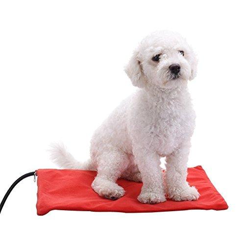Cuscino riscaldante per animali domestici per gatti e cani. berocia: scaldino regolabile per animali domestici con temperatura regolabile e resistente alla masticazione (medio 30 x 40 cm)