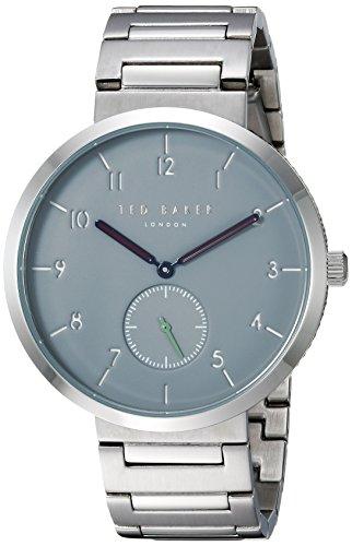 Ted Baker TE50011011 - Reloj analógico de Cuarzo con Correa de Acero Inoxidable para Hombre