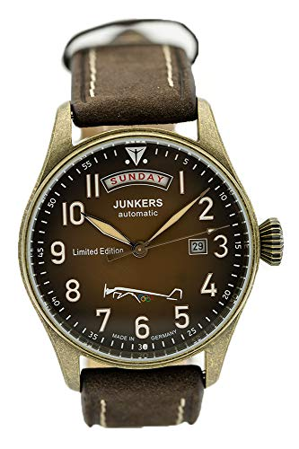 Junkers Automatic Men's Aviator Watch Limited Edition Olympic Games Berlin 1936 5155-5 - Made in Germany