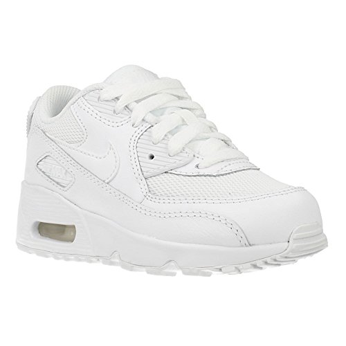 Nike Unisex – Bimbi 0-24 Air Max 90 Mesh (Ps) scarpe sportive bianco Size: 30