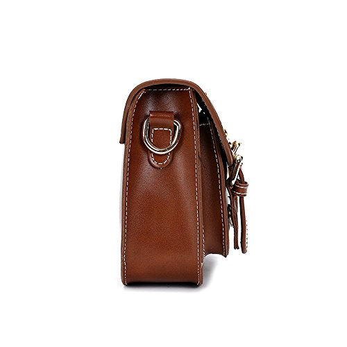 Meoaeo Borsa A Tracolla Borsa Fashion Borsa A Tracolla Nero Light brown