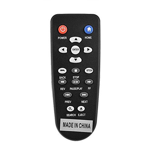 Fosa WD TV Ersatz Fernbedienung Fit für WD Western Digital Mini HD Hub WDTV Media Player WDTV001RNN
