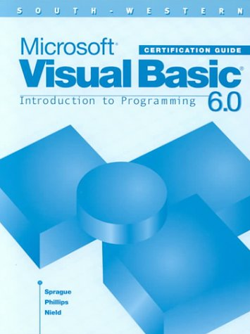 Microsoft Visual Basic 6.0 Certification Guide