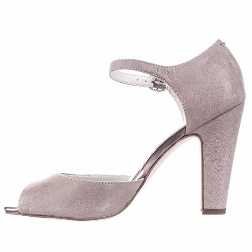 Anne Klein Womens Henrika Peep Toe Ankle Strap D-Orsay Pumps Anne Klein Peep Toe