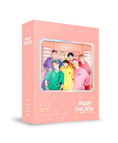 BTS Bangtan Boys - BTS 4th Muster Happy Ever After DVD 3Discs+Photobook+Postcard+Photocard+Extra Photocards Set