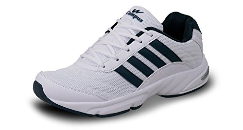 Campus ANTRO-3 Men White & Blue Sport Shoes Size- 7