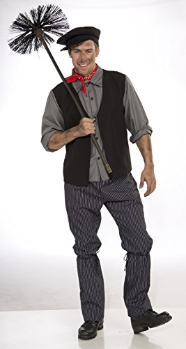 Costume da spazzacamino Bert Mary Poppins Disney Fancy Dick Van Dyke adulto