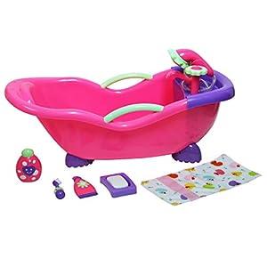 JC TOYS- Accesorios para muñecos bebé, Color Pink (25520)