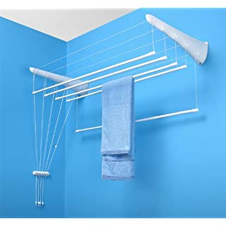 Clothes Dryer Wall Bars AIRAVIE 5 160 cm