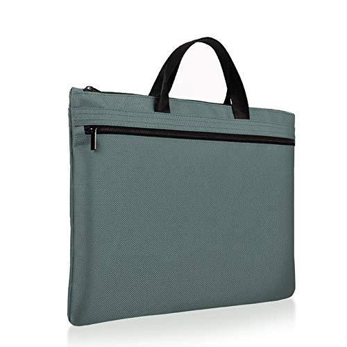 Serrale Tragbare Datei Tasche Reißverschluss Konferenz Aktentasche Leinwand Datei Paket Geschäft Kleine Frische Multifunktionsdatei Paket, 2 (Datei-erweiterung Kleine)