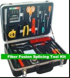 GOWE fibra óptica Fusión Empalme herramienta Kit