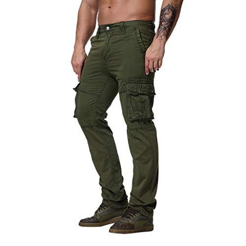 rm der Mode Männer keucht Fracht Hosen beiläufige Hosen ArbeitshosenHosen Short Jogginghosen Freizeithosen Strumpfhosen Grün XXXL ()