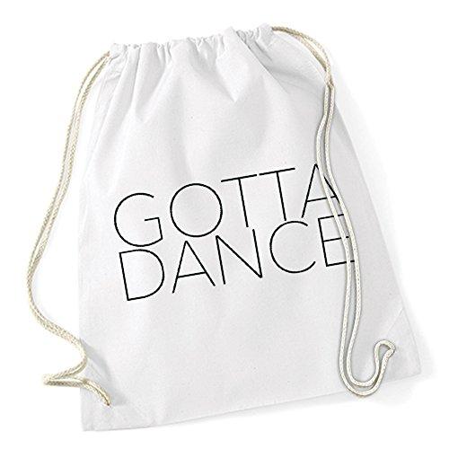 Gotta Dance Borsa De Gym Bianco Certified Freak