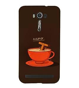 EPICCASE Funny tea cup Mobile Back Case Cover For Asus Zenfone Go (Designer Case)