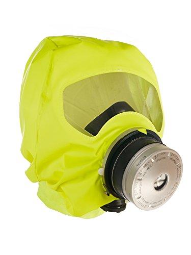 rand-Fluchthaube   effektive Rettungshaube zum Schutz vor Brandgasen, CO2 und Kohlenmonoxid   Nylon Tasche mit 1 Brand-Schutzhaube (Rauch Maske)