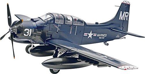 Revell Stufe-Monogramm 85-5327 1/48 Douglas AD-5 (A-1E) Skyraider (Japan Import / Das Paket und das Handbuch Werden in Japanisch)