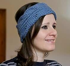 Fascia per capelli da donna. Fatto a mano. Fatto a maglia. Turbante in lana. d896fe74d557
