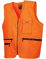 "Benisport - Chaleco fosforito ""basic line"" talla xl, color naranja"