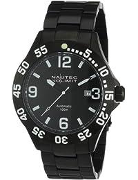 Nautec No Limit Herren-Armbanduhr Viperfish VF AT/IPIPBKBK-WH