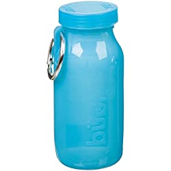 Bübi Bottle – Silicone multifunzione borraccia 414 ml, Ocean Blue/blu