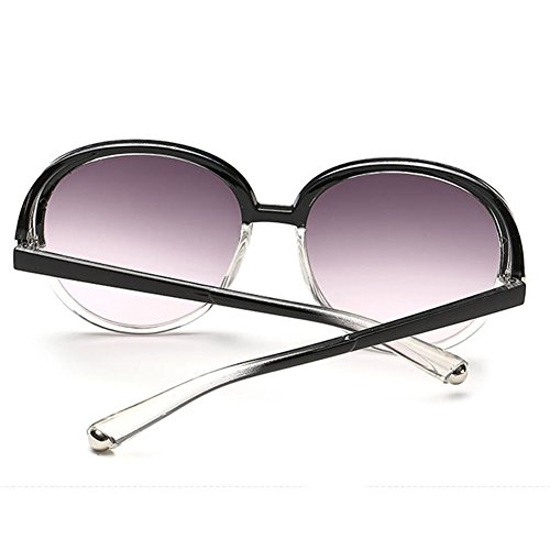 Z-P New Style Fashion Anti-UV Vintage Concise Geek Women's Personality Sunglasses 60MM
