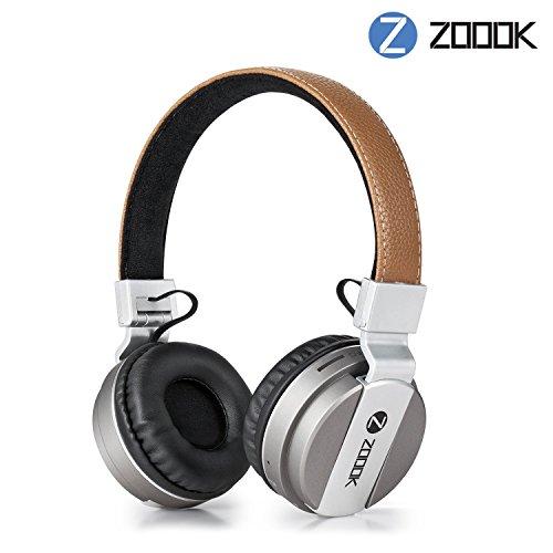 Renewed  Zoook ZB Rocker Bomb Bluetooth Headphones  Brown
