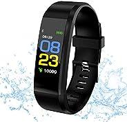 Smartwatch con monitoraggio della frequenza cardiaca e del sonno da 1,3 pollici, braccialetto Heart Rate Meter