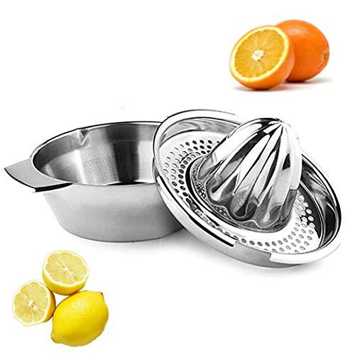 YAVO-EU Exprimidor Manual de limón Acero Inoxidable Prensa de cítricos Naranja Squeezer Lemon Uso...